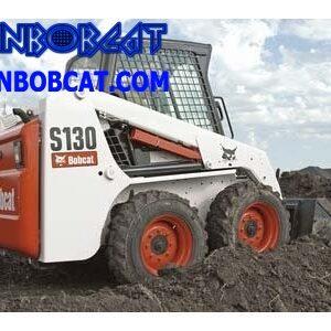 مینی لودر بابکت Bobcat S130 چرخی