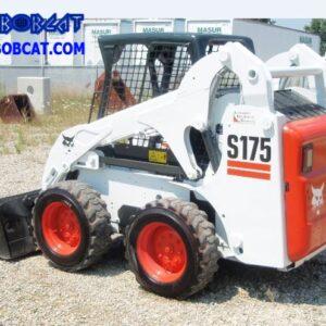 مینی لودر بابکت Bobcat S175 چرخی