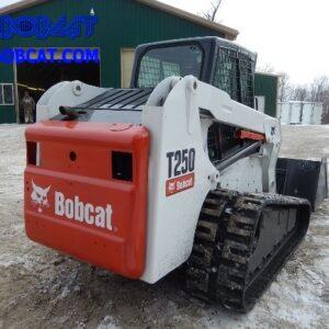 بابکت t250 مینی لودر Bobcat T250 زنجیری