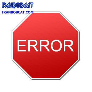کدهای خطا