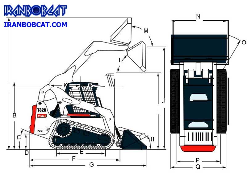 بابکت Bobcat T320