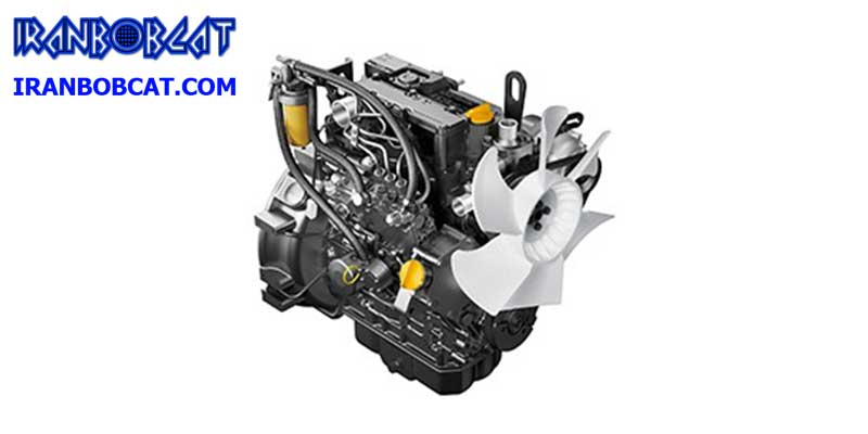 تعمیر موتور مینی لودر دراج 761