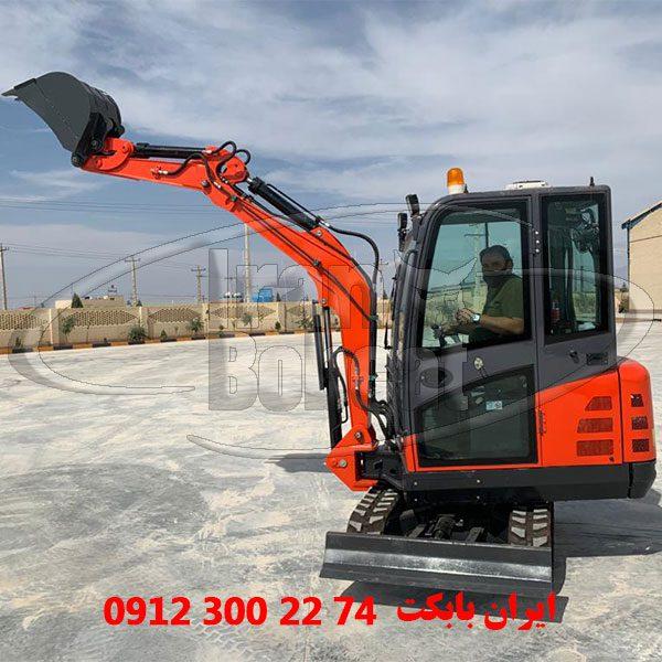 قیمت مینی بیل مکانیکی فوریوز Foruse SG0822