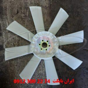 پروانه رادیاتور موتور مینی لودر دراج doraj 781