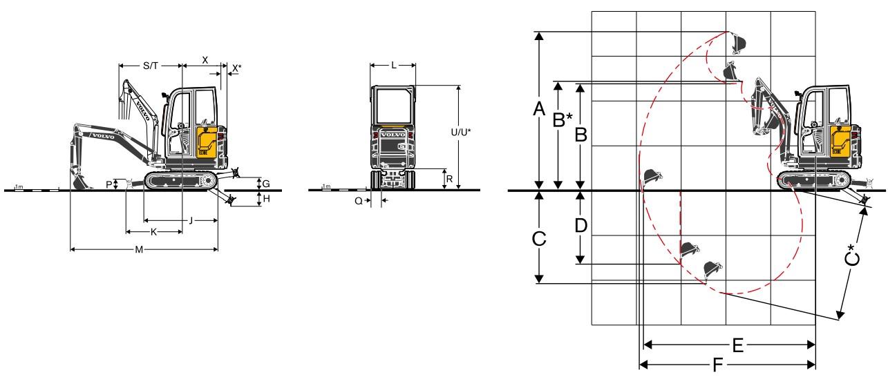 مینی بیل مکانیکی ولوو EC18E